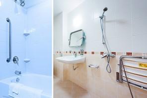 J-L Artibat réalise la transformation et l'aménagement de douches sénior, handicapés et PMR en région angevine