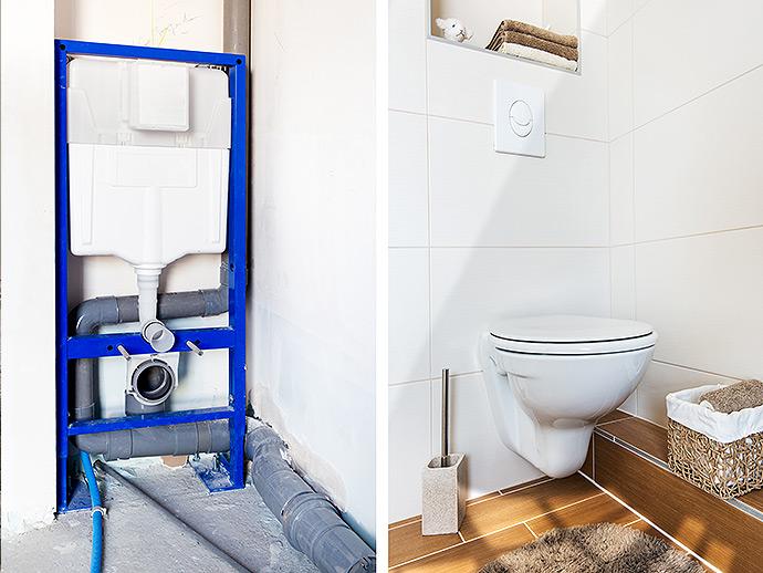 Pose WC salle de bain Angers - Installation toilettes