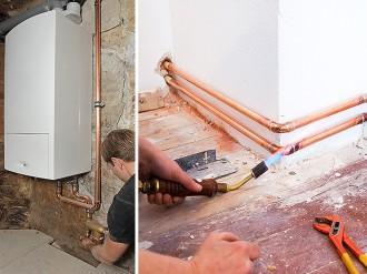 Rénovation et installation de chauffage gaz sur Angers, Saint-Nazaire, Angers, Beaucouzé...